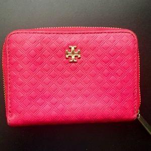 Tory Burch Hot Pink Fuchsia Wallet Card Holder